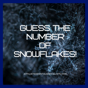 Guess the Number of Snowflakes 2020