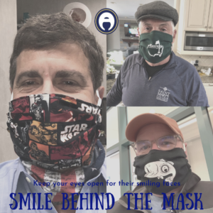 smile behind the mask